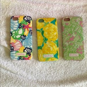 3 Lilly Pulitzer iPhone cases